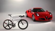 Alfa Romeo 4C gets a two-wheel version