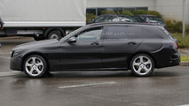 2015 Mercedes C-Class Estate spy photo