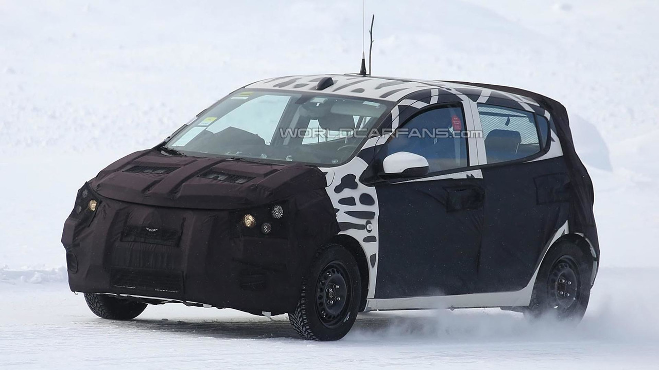 2015 Chevrolet/Opel Spark spy photo