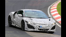Honda NSX: Erlkönig