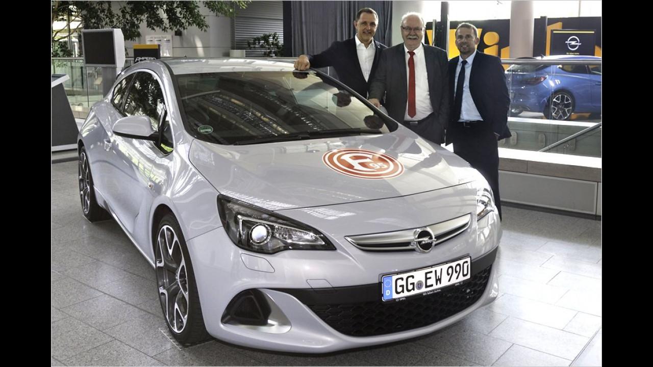Fortuna Düsseldorf: Opel