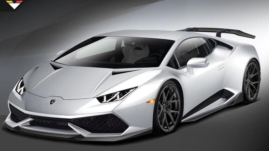 Vorsteiner previews Lamborghini Huracan tuning project