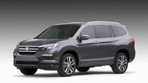 2016 Honda Pilot 3.5-liter V6 engine rated at 280 bhp [video]