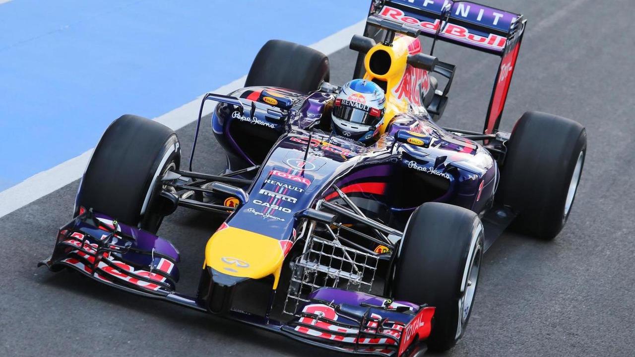 Sebastian Vettel (GER), 09.07.2014, Formula One Testing, Silverstone, England / XPB