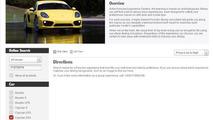 Porsche Cayman GT4 screen shot