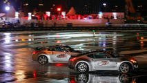 Nissan Guinness World Record for the longest twin vehicle drifting