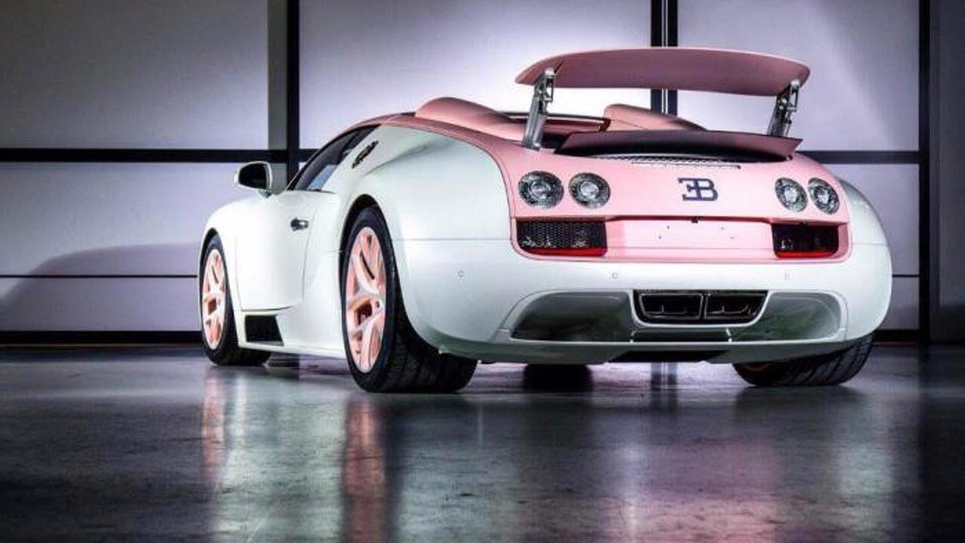 Единственный Bugatti Veyron Grand Sport Vitesse Cristal