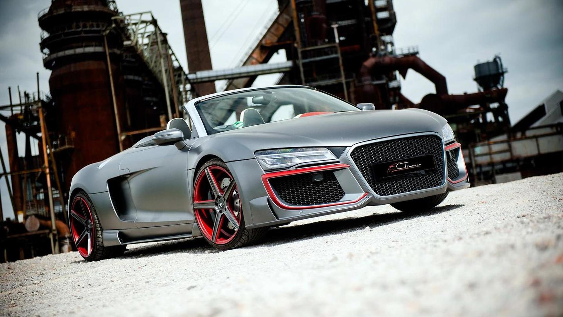 Тюнинг Audi R8 Spyder от CT Exclusive