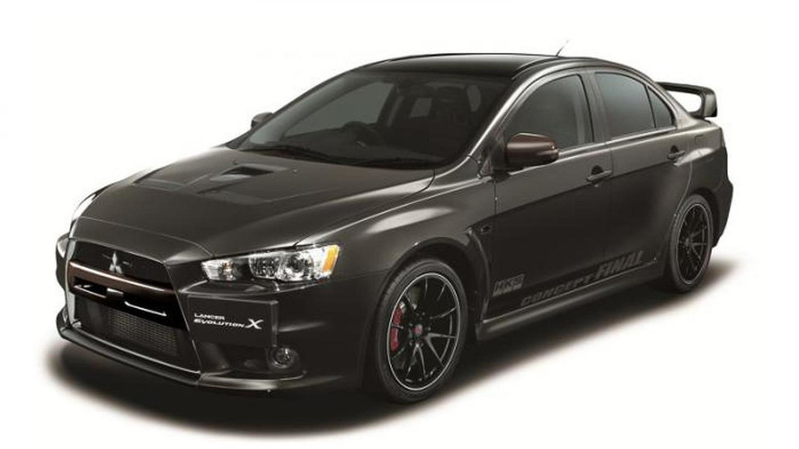 Mitsubishi Lancer Evolution X Final Concept introduced with 480 HP