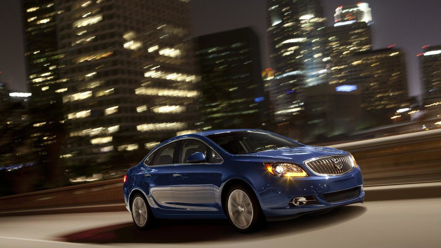 2013 Buick Verano Turbo returns 20 mpg in the city