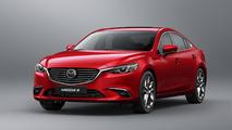 Mazda 6 Sedan rojo
