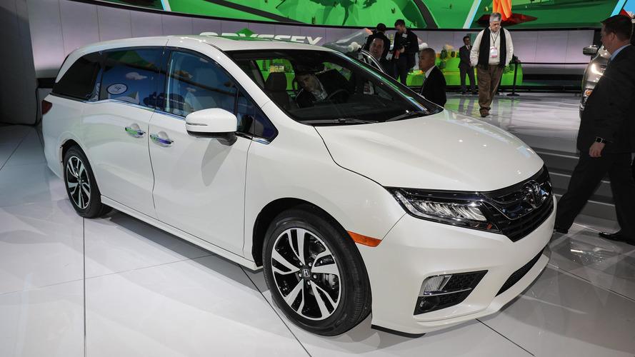 Nova Honda Odyssey 2018 estreia câmbio de 10 marchas em Detroit