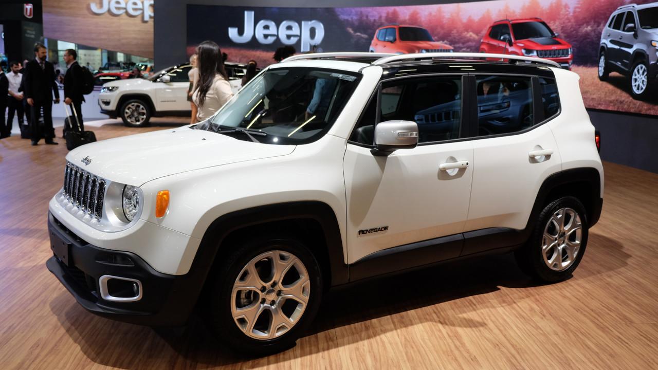 Salão do Automóvel: Jeep Renegade 2017 estreia motor 1.8 flex evoluído com 139 cv