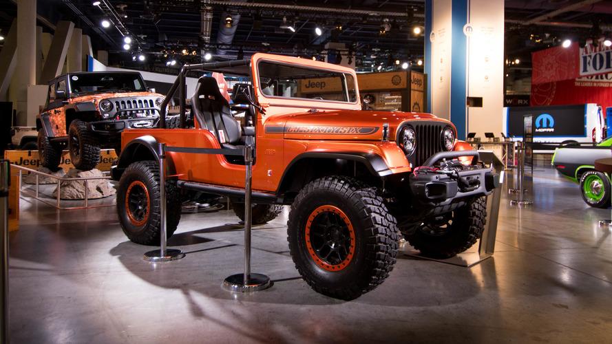 SEMA 2016 - Jeep dévoile un concept inspiré du CJ