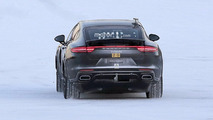 Porsche electrified test mule spy photo