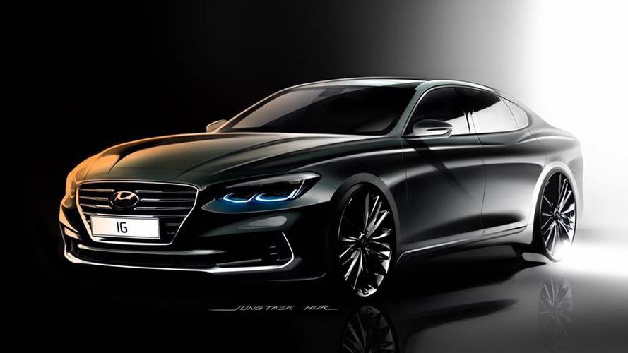 Une nouvelle Hyundai Grandeur en vue