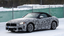 2018 BMW Z5 spy photo