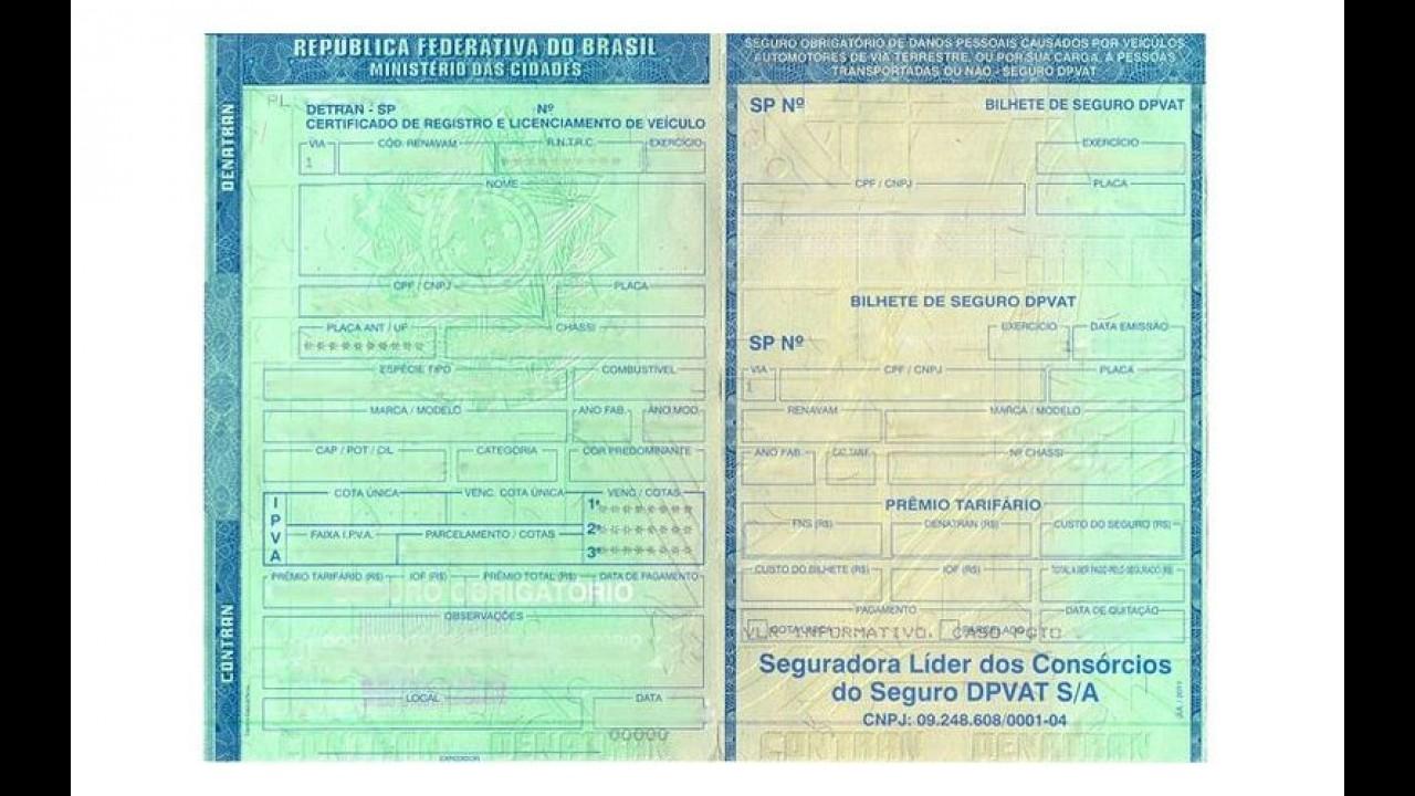 Projeto de lei prevê fim do porte obrigatório da CNH no Brasil