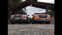 Teste CARPLACE: Honda CR-V e Hyundai ix35 fazem duelo de veteranos renovados