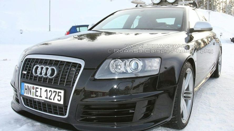 Audi RS 6 Sedan Spy Photos
