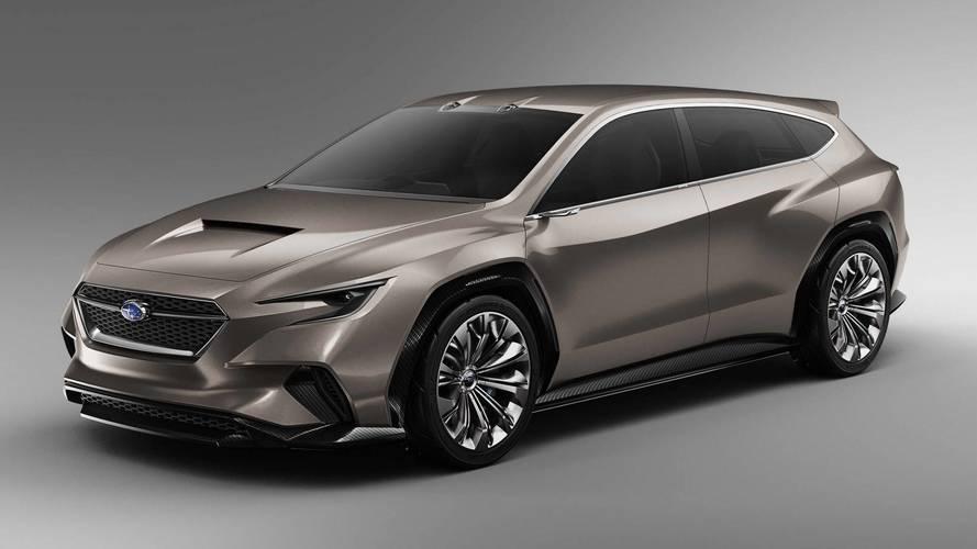 Subaru VIZIV Tourer Concept, un 'wagon' muy pasional