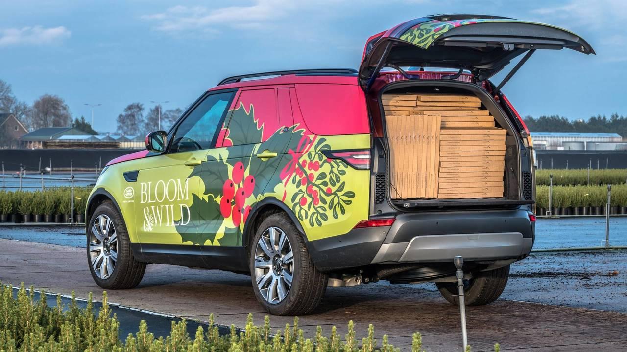 Land Rover karácsonyi üdvözlet
