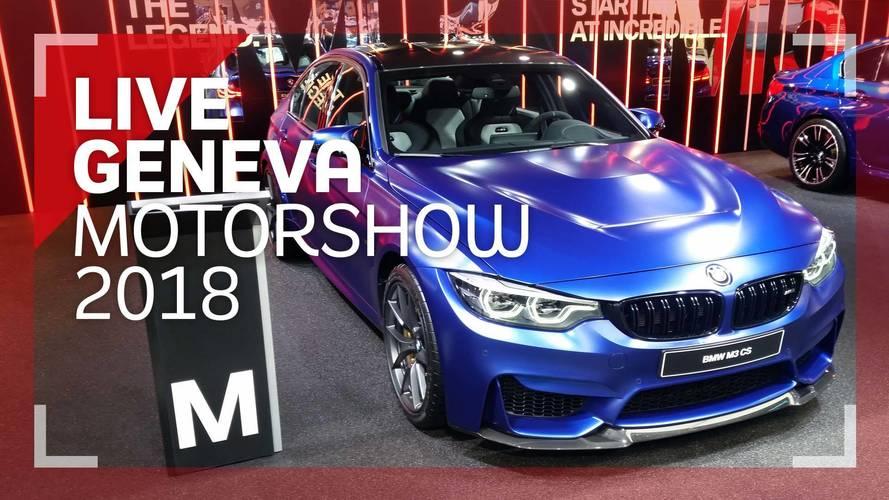 Genève 2018 - La BMW M3 CS en vidéo !
