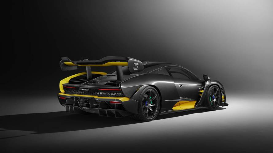 Carbon fibre McLaren Senna from MSO dropped ahead of Geneva