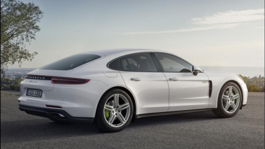 Nuova Porsche Panamera 4 E-Hybrid, fino a 50 km in elettrico [VIDEO]