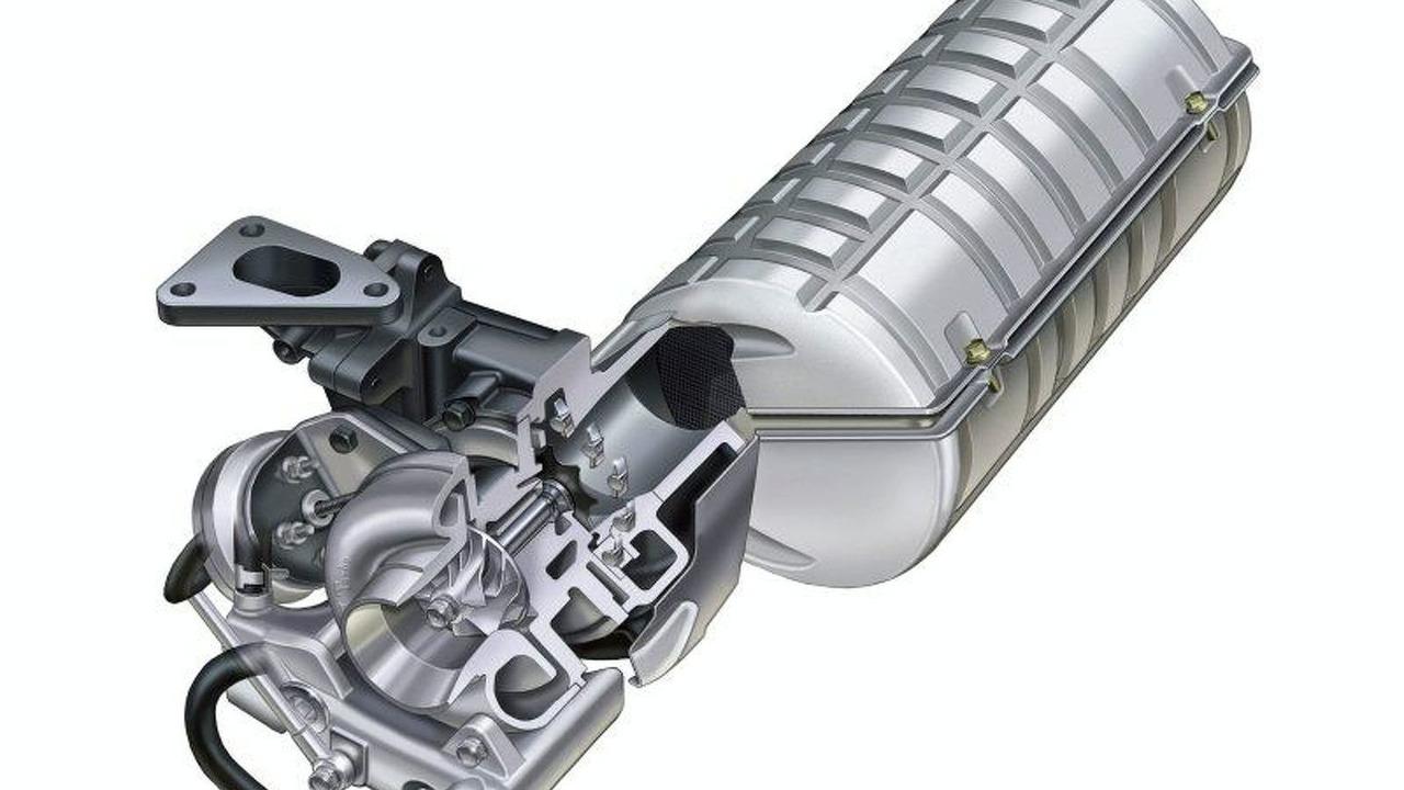 Subaru horizontally opposed diesel engine