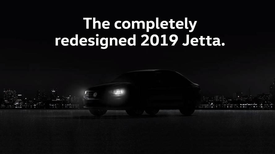 Novo Volkswagen Jetta 2019 ganha teaser antes da estreia em janeiro