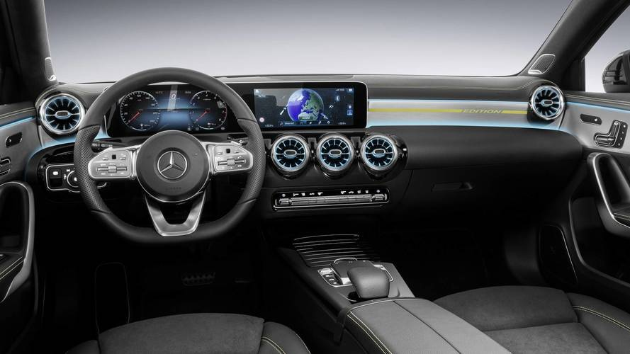 Mercedes Clase a 2018 interior