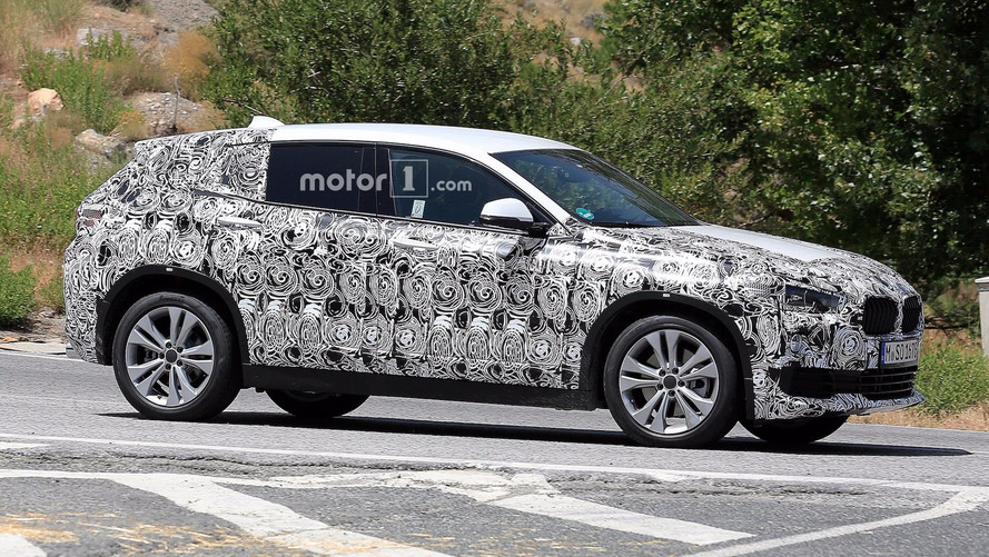 2018 BMW X2 Crossover Caught On Camera