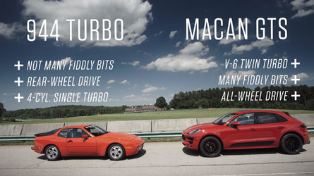 How Does A Porsche 944 Turbo Compare To A Macan GTS On The Track?
