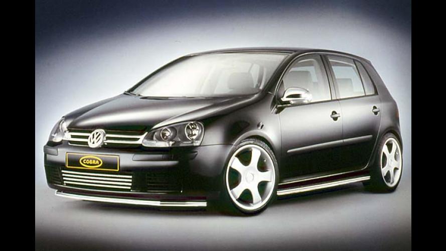 Von Cobra gebissen: VW Golf V auf Hochglanz gebracht