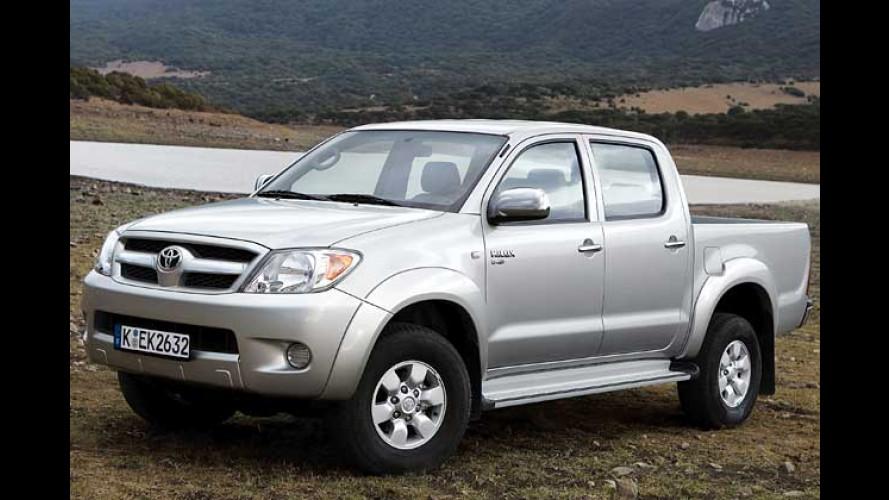 Fit for Fun: Neuer Sportdress für den Toyota Hilux