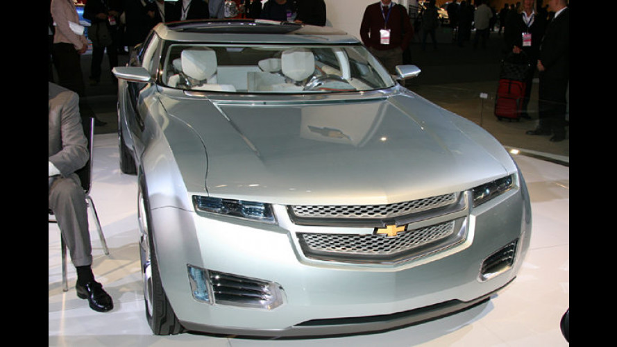 Chevrolet Volt: Prototyp soll Tankstopps überflüssig machen