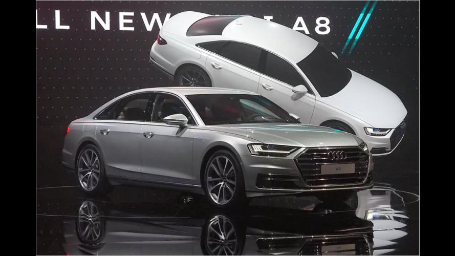 Neuer Audi A8: Noch länger, noch autonomer