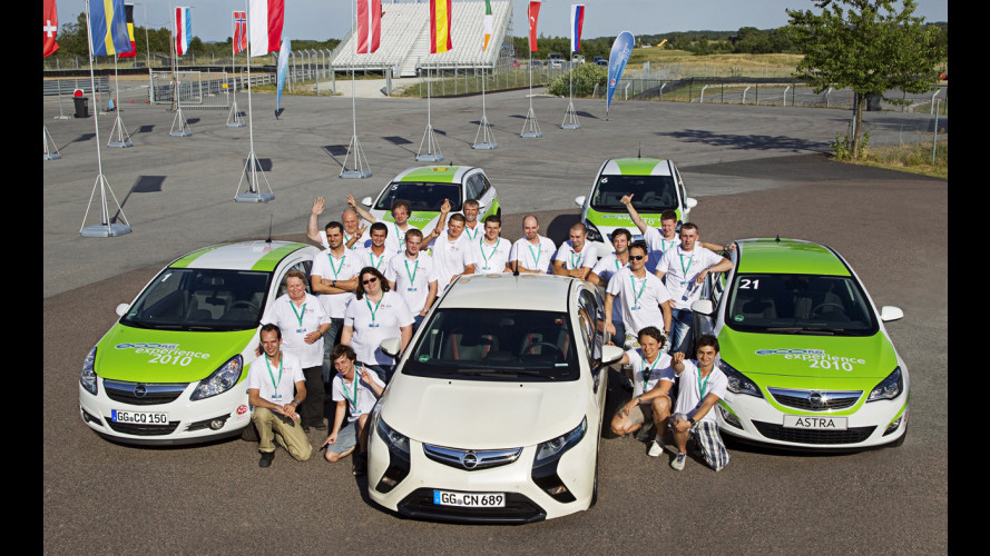 Opel EcoFLEX Experience: il vincitore è un portoghese