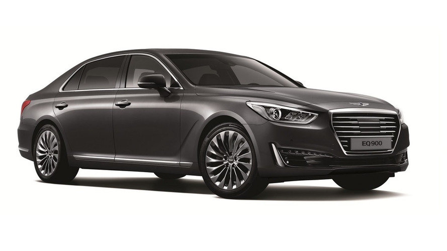 Genesis G90 full technical specs inside