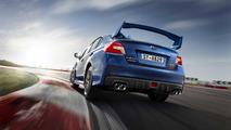 Subaru WRX STI azul 2