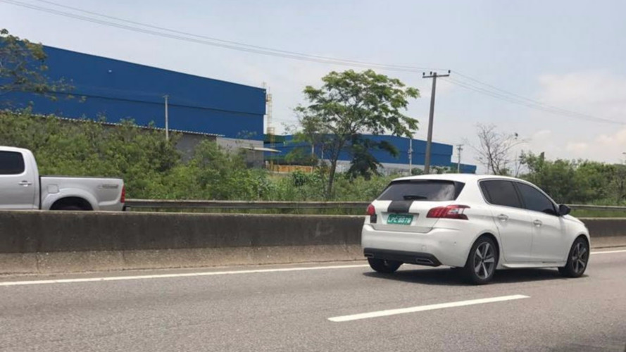 Peugeot 308 com plataforma EMP2