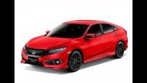 Prestes a estrear no Brasil, novo Civic RS Turbo ganha versão com kit esportivo
