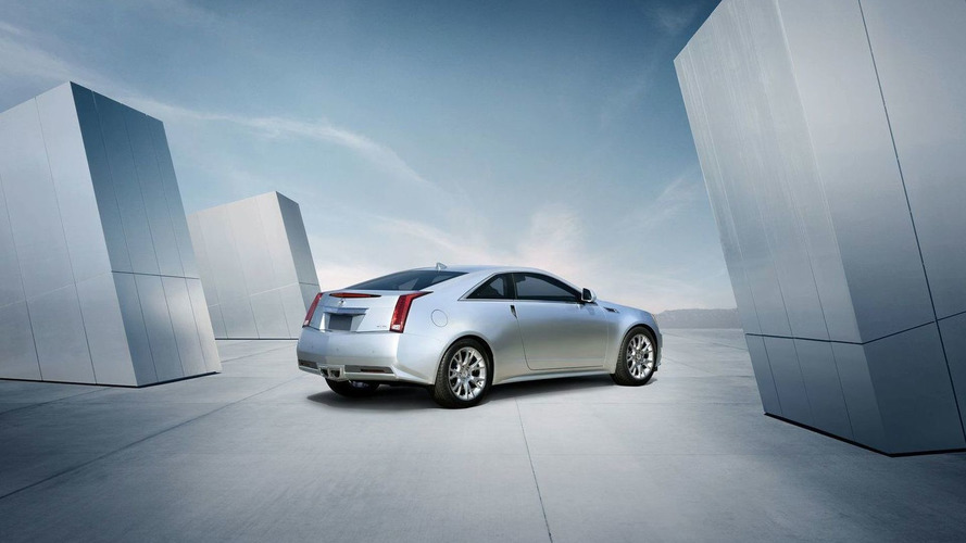 2011 Cadillac CTS Coupe U.S. pricing starts at $38,990