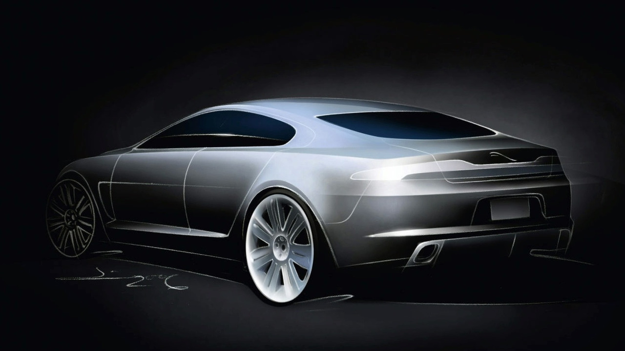 Jaguar C-XF concept design sketch