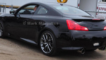 Infiniti G37 Performance model caught ahead of Pebble Beach unveiling