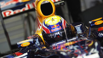 Mark Webber of Australia and Red Bull Racing prepares to drive during practice for the Turkish Formula One Grand Prix