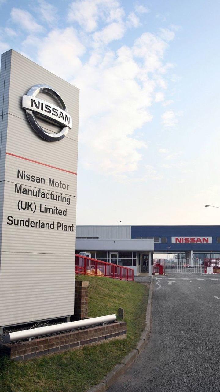 Nissan Sunderland Plant, UK,  18.03.2010