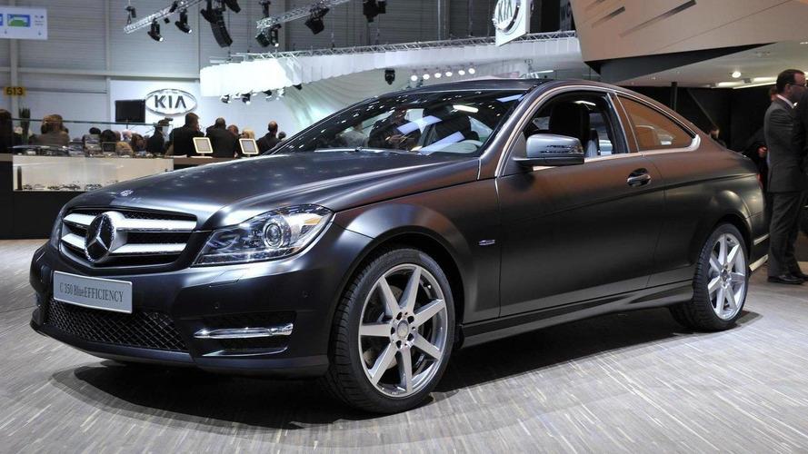 2012 Mercedes C-Class Coupe rolls into Geneva