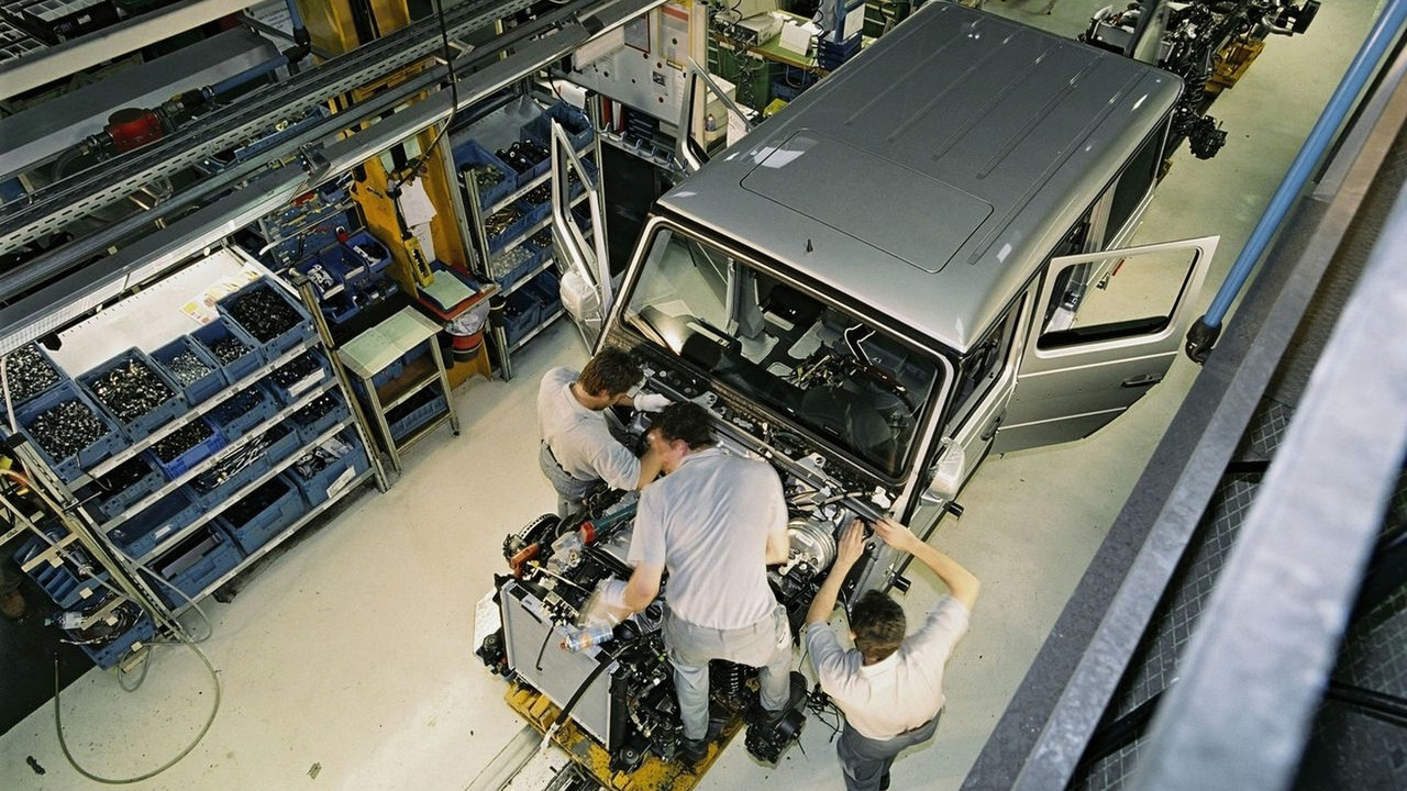 Mercedes-Benz G-Class production